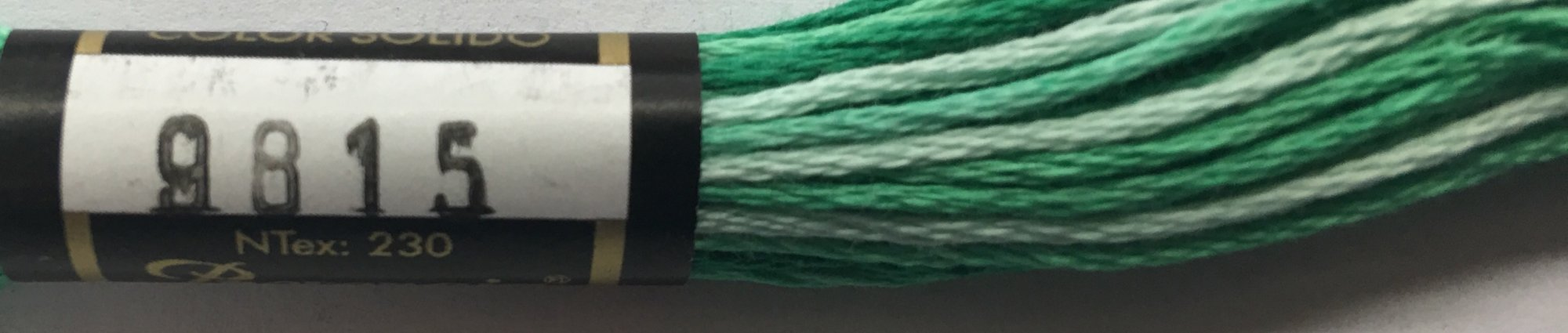 F9815 Presencia 100% Mercerized Finca Varigated Cotton 6 ply Embroidery Floss 8 meter skein