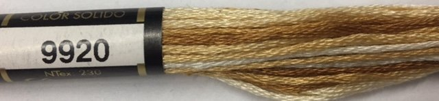 F9920 Presencia 100% Mercerized Finca Varigated Cotton 6 ply Embroidery Floss 8 meter skein