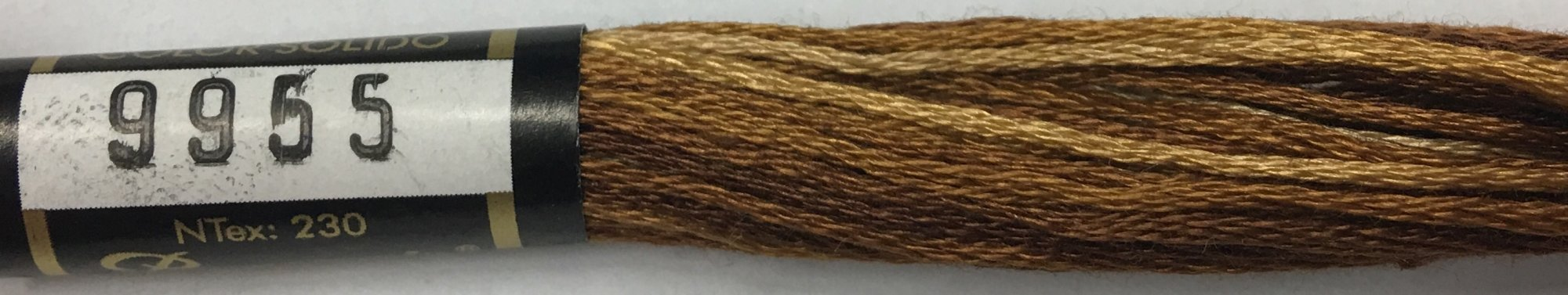 F9955 Presencia 100% Mercerized Finca Varigated Cotton 6 ply Embroidery Floss 8 meter skein