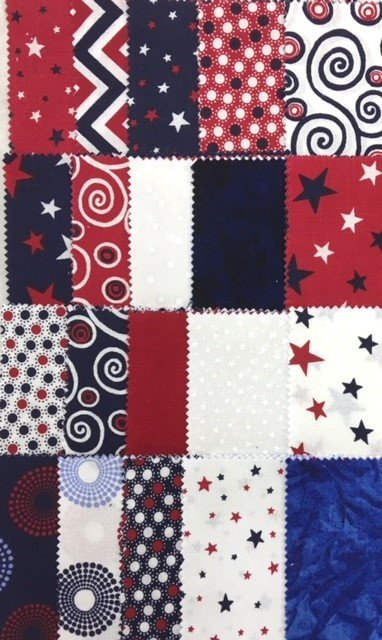 FABR0SWLSQ Sweet Liberty Red/White/Blue 40 - 5 Charms