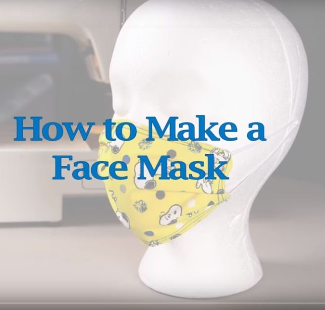KQF003, How to Make a Face Mask Option 1