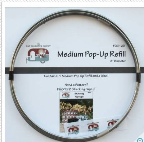 FQG123 Fat Quarter Gypsy Pop-Ups Refill Size Medium
