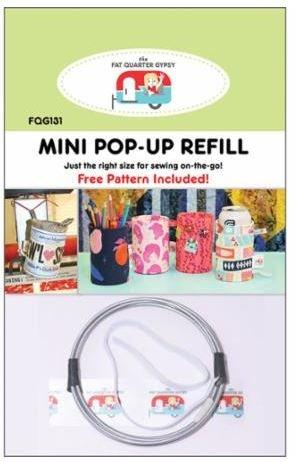 FQG131 Mini Pop-Up Refill Includes Pattern 3 Wide x 4-1/2 Tall H x