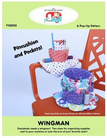 FQG133 Fat Quarter Gypsy Pop-Ups Pattern Wingwam