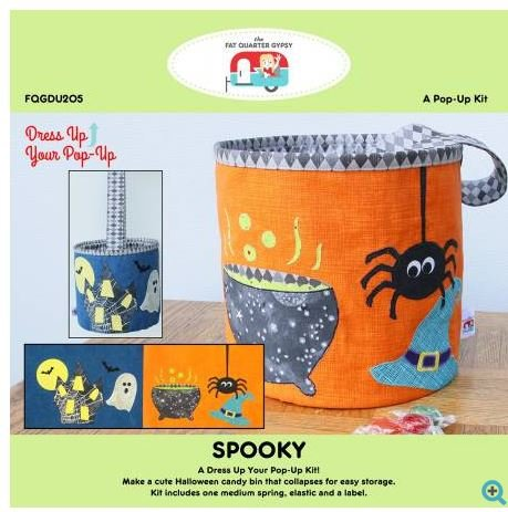 FQGDU205 Spooky Pop-Up Includes Pattern Medium Pop-up Spring with Pattern
