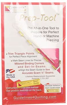 GLPT Guidelines 4 Quilting Prep-Tool All in one