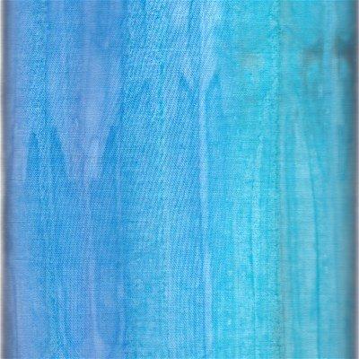 H131-01AZURE Hoffman of California Batik Hand Painted Azure Stripe