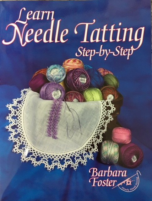 HAHT10 Handy Hands Barbara Foster Learn Needle Tatting Step by Step
