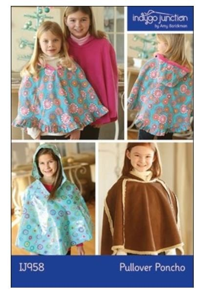 IJ958 Indygo Junction Child Pull Over Poncho