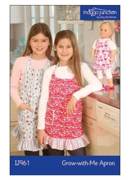 IJ961 Indygo Junction Child Grow With Me Apron