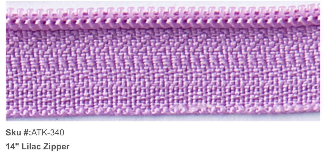 ATK-340 Zipper 14 Lilac