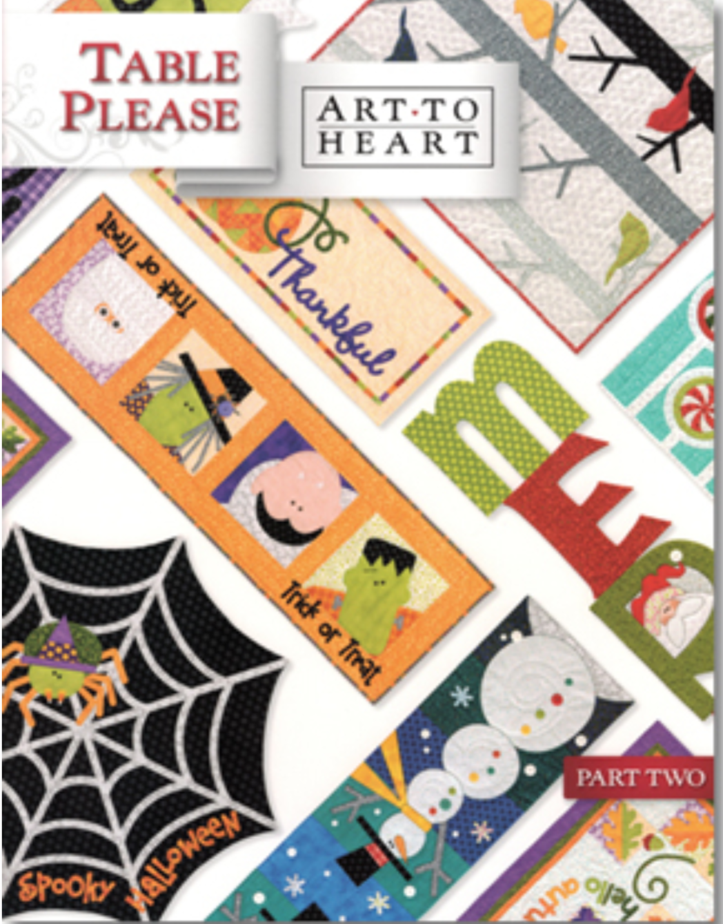 550B Art to Heart Table Please Part Two - Halloween