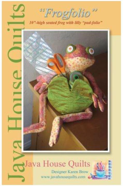 JHQ148 Java House Frogfolio Pattern