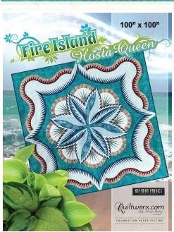 JNQ138P Judy Niemeyer Fire Island Hosta Queen