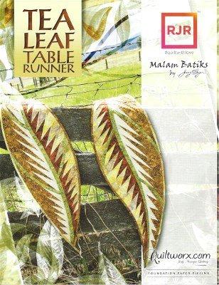 JNQ154P Judy Niemeyer Tea Leaf Table Runner