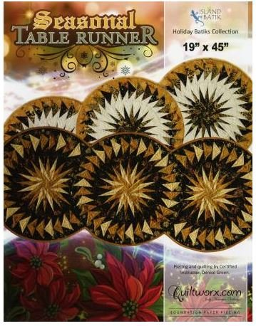 JNQ54P Judy Niemeyer Seasonal Table Runner