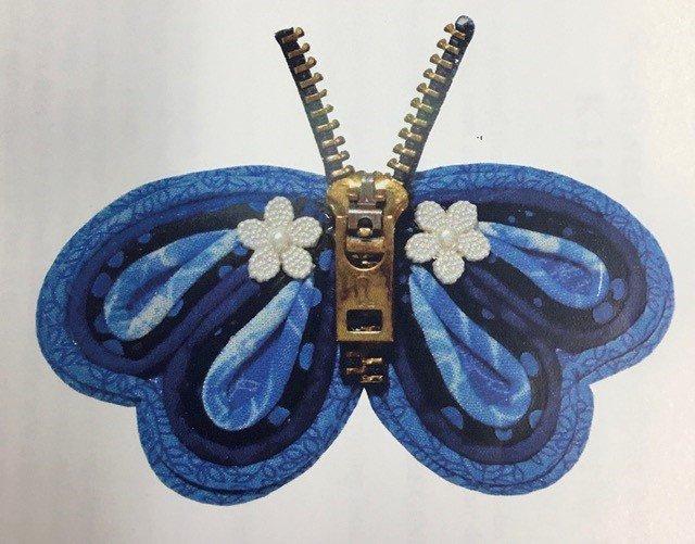 K-118, Stringed Butterfly Pin Pattern