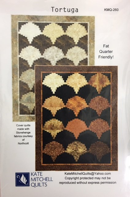 KMQ-260 Kate Mitchell Quilts Toruga 72 x 92 Northcott pattern
