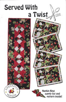 KPD732 Kariepatch Designs Served with a Twist Runner & Placemats