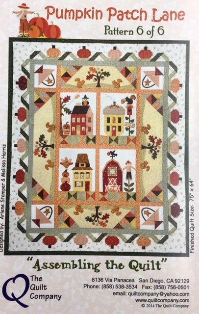 KQ8136 Pumpkin Patch Lane Kit Includes 6 Pattern Set 64 by 75