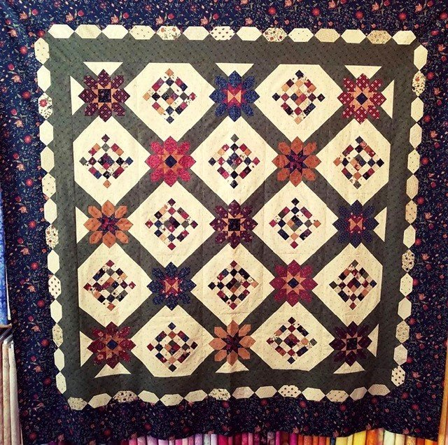KT18069GKIT Moda, On Meadowlark's Song Quilt by Kansas Trouble  72 x 72