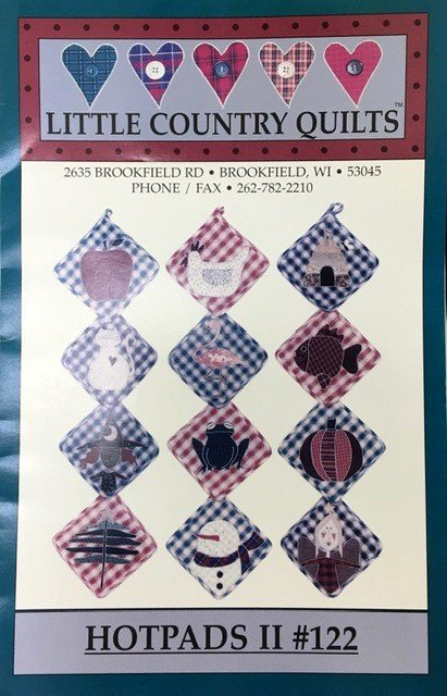 LCQ122 Hotpads II by Little Country Quilts