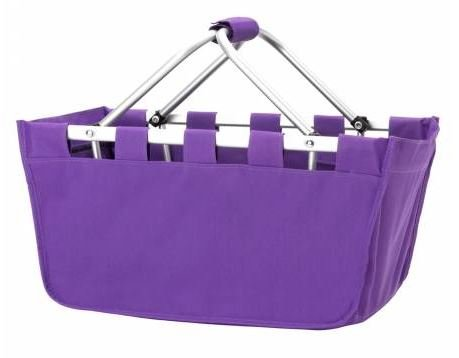 MARKETVL-PUR Purple Market Tote