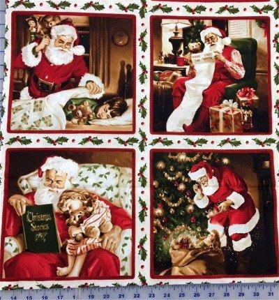 MAS8110-E Maywood Studio Santa Clause Blocks