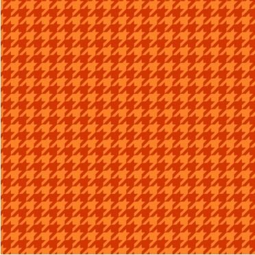 MAS8206-O Maywood Mind Your Mummy Orange Herringbone