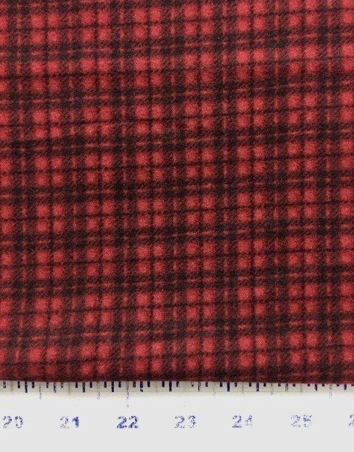 MASF18502-R Maywood Shadow Flannel Shadowplay Red and Black Plaid