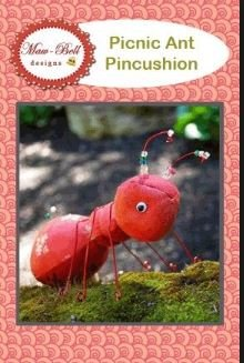 Maw-Bell Designs Picnic Ant Pincushion MBD224