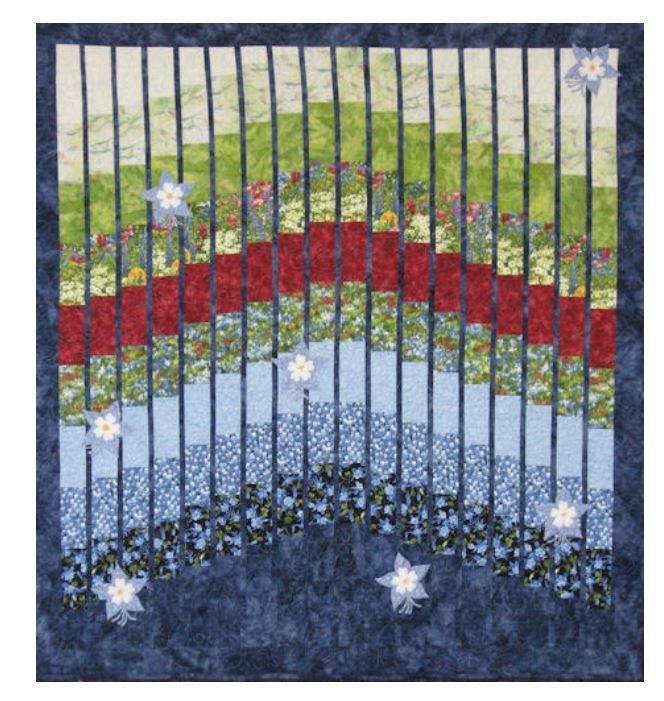 MC323 Mountainpeek Creations Columbine Garden Pattern