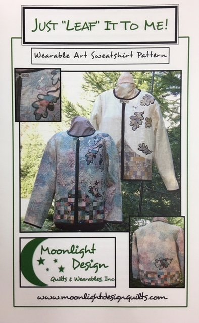 MLD04 Moonlight Design Just Leaf it to Me Jacket Pattern