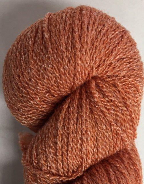 MM22F17-PUMP Mountain Meadow Green River 2 Ply Fingering Yarn Pumpkin