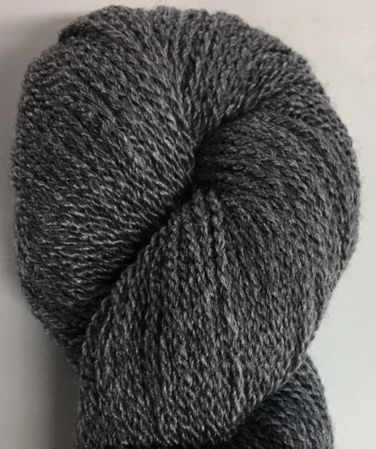MM6I17-CHAR Mountain Meadow Green River 2 Ply Fingering Yarn Charcoal