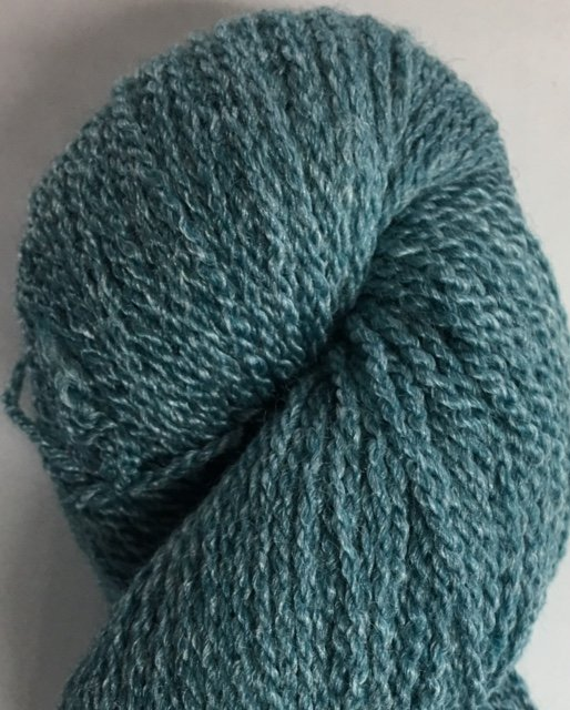 MM7I17-TEAL Mountain Meadow Green River 2 Ply Fingering Yarn Teal