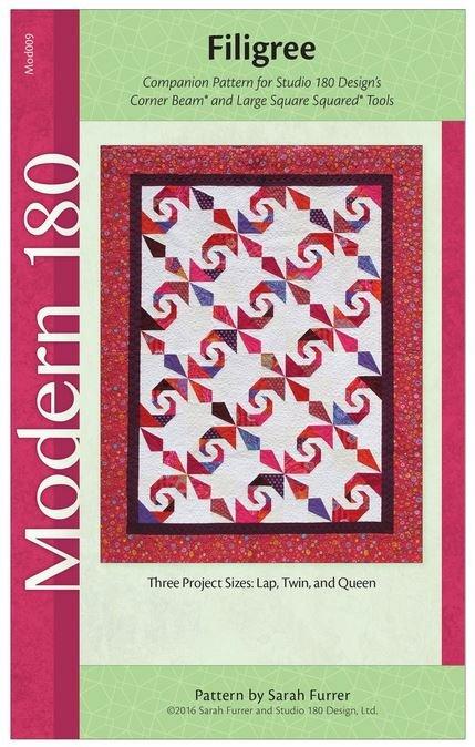 MOD009 Filigree Studio 180 Designs Lap Twin or Queen