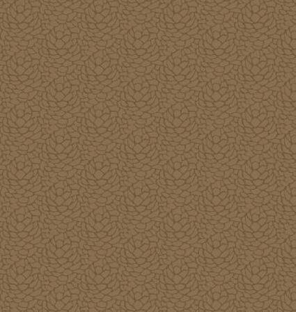 MOOS479-U P & B Textiles Moose Meadows Flannel  Lt. Brown Pinecone