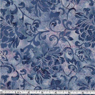 N2891-120 Hoffman of California Batik Floral Batik Hyacinth