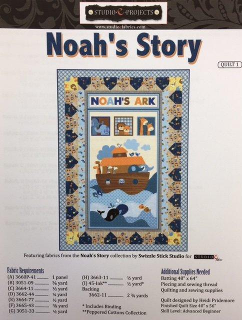 3660P-41 Noah's Story Panel