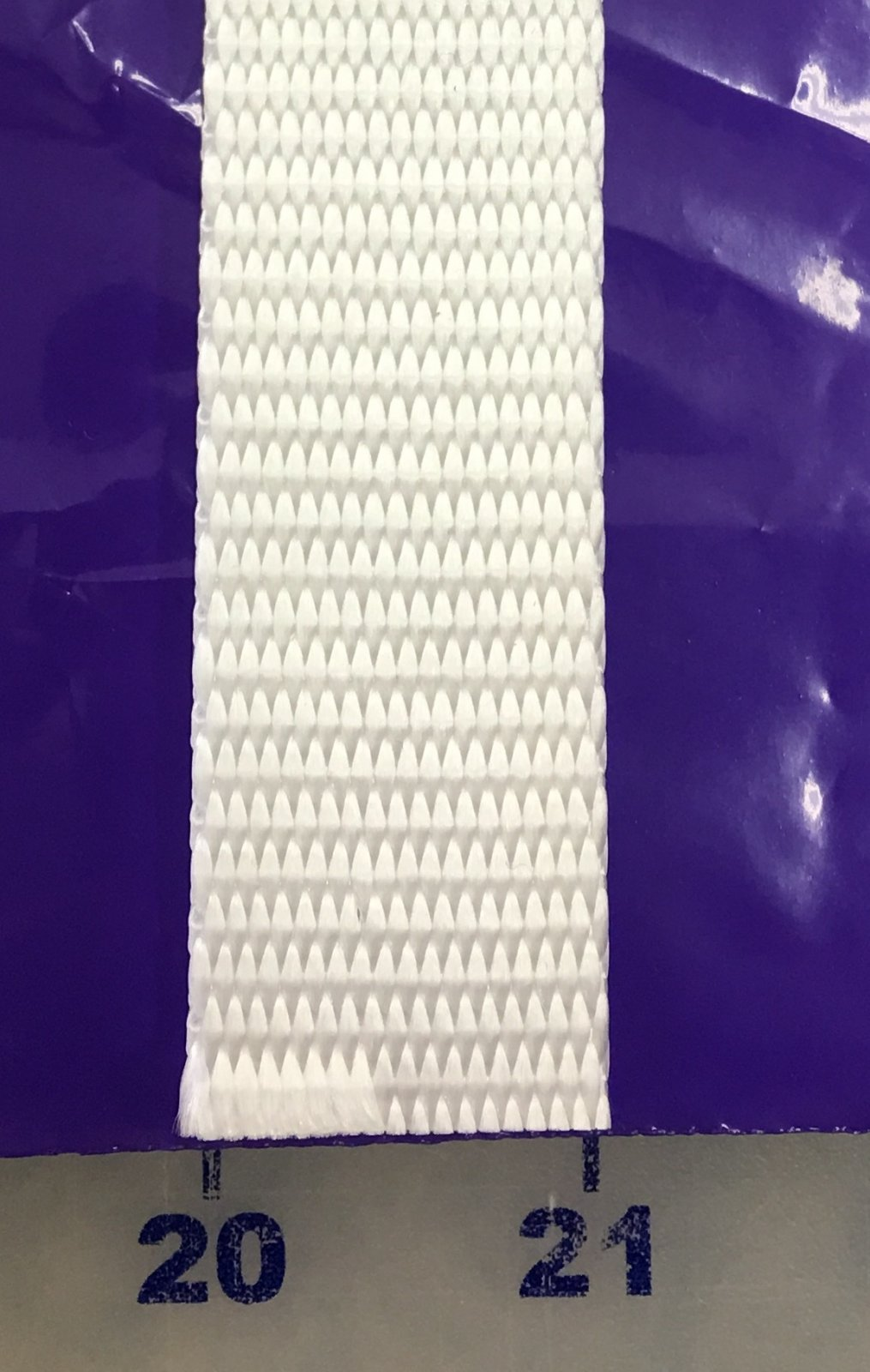 NW1-WHT Lyle Webbing 100% Poly 1 Wide White