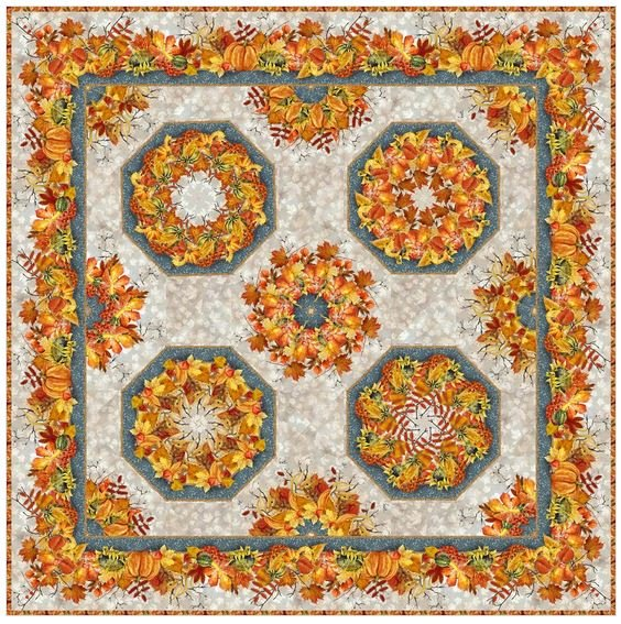 OAF-KIT In the Beginning Our Autumn Friends Kaledoscope Kit, Jason Yenter