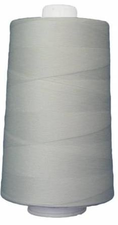 OM3002 Omni Natural White Poly wrapped Poly Core 40 wt 6000 yards