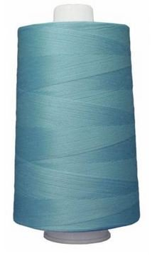 OM3089 Omni Light Turquoise Poly Wrapped Poly Core 40 wt 6000 yards