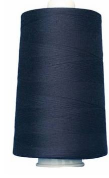 OM3109 Omni Navy Blue Poly Wrapped Poly Core 40 wt 6000 yards