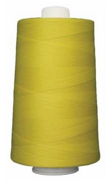 OM3163 Omni Mellow Yellow Poly wrapped Poly Core 40 wt 6000 yards