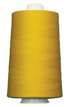 OM3164 Omni Neon Yellow Poly wrapped Poly Core 40 wt 6000 yards