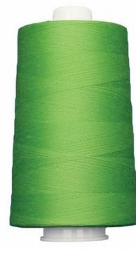 OM3166 Omni Spring Green Poly wrapped Poly Core 40 wt 6000 yards
