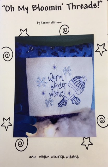 OMBTA10 Oh My Blooming Threads Hand Embroidery Warm Winter Wishes