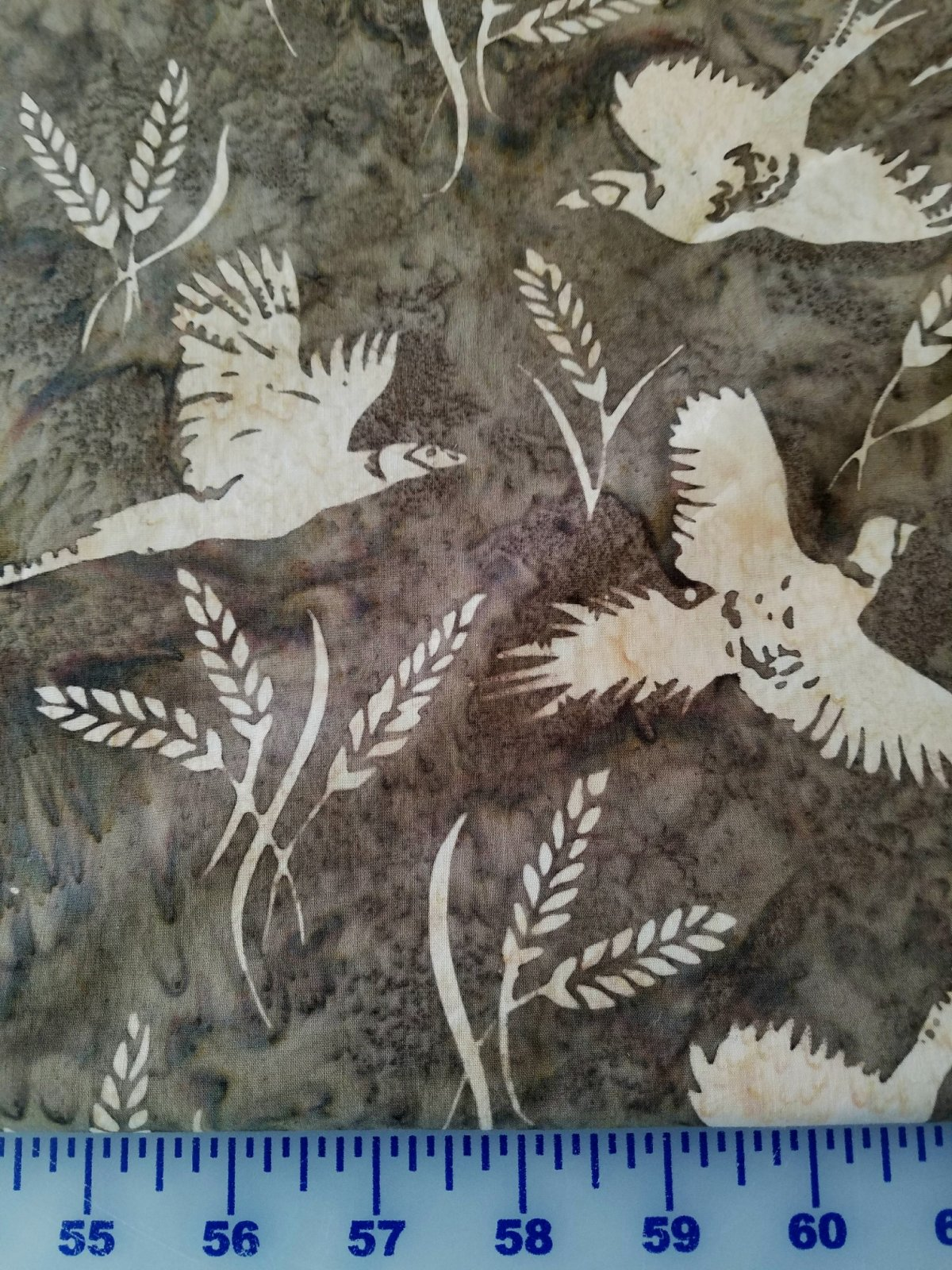 P2085-540 Hoffman of California Pheasants and Wheat Woodstock
